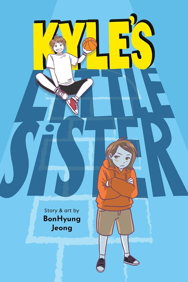 Kyle's Little Sister: JY's New Kids' Graphic Novel About Sibling Rivalry