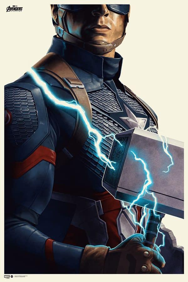 Mondo Selling New Captain America, Fantastic Four Posters Tomorrow