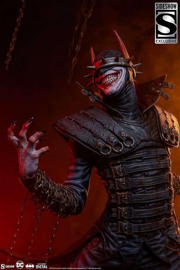 The Batman Who Laughs Gets New Sinister Sideshow Collectibles Statue