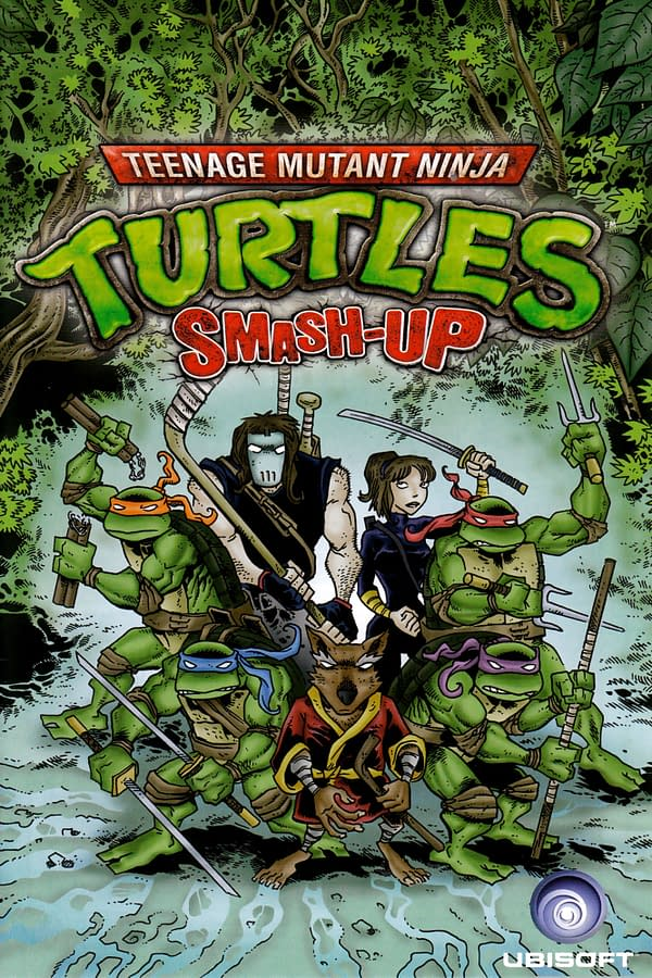 Teenage Mutant Ninja Turtles Smash-Up #1 Front Cover