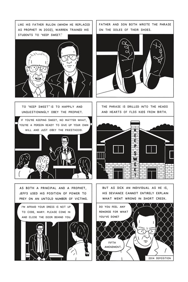 Preview page from American Cult by Robert Sergel