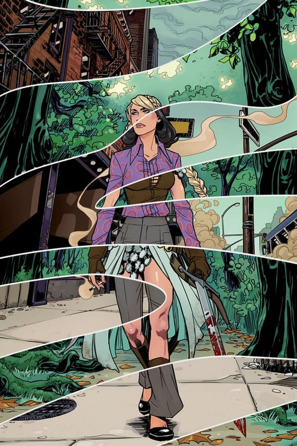 Glarien cover. Credit: Scout Comics
