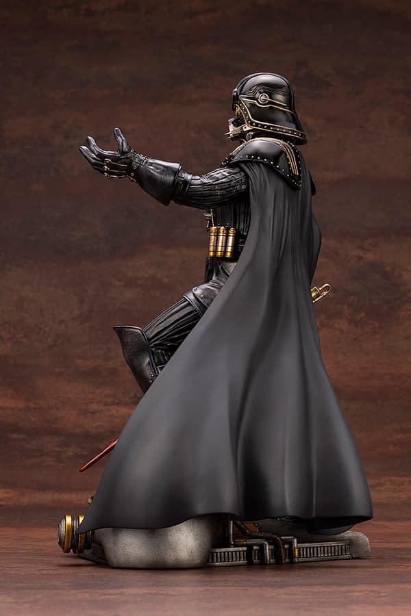 Darth Vader Goes Steampunk With New Kotobukiya Statue