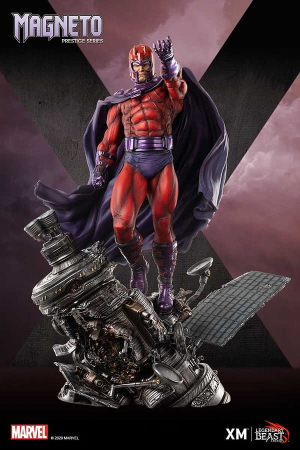 Magneto Wants Mutant Freedom With New XM Studios Statue