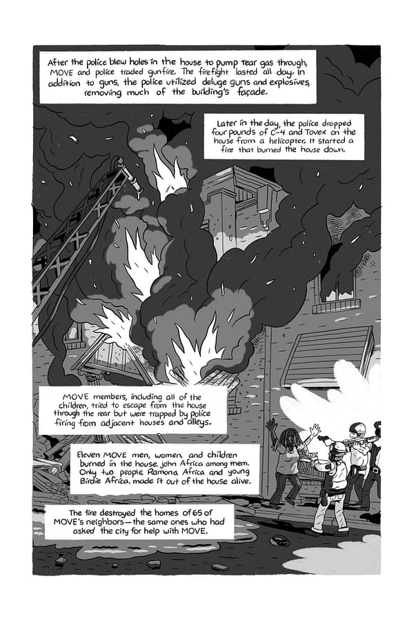 Preview page from American Cult by Ben Passmore