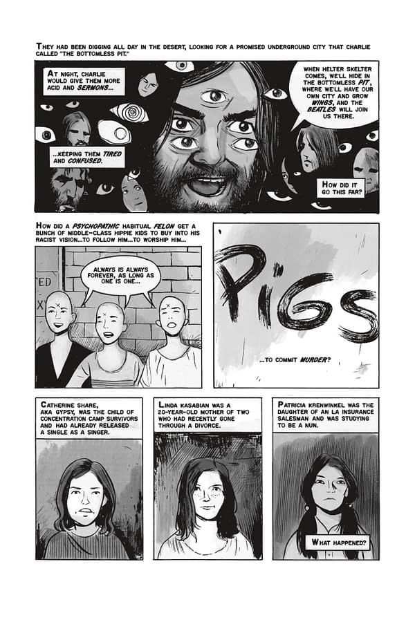 Preview page from American Cult by Janet Harvey and Jim Rugg