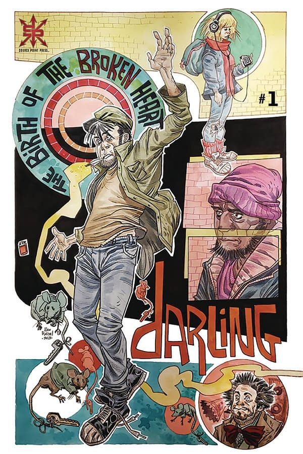 A Darling New Comic Book In Source Point Press' June 2021 Solicits
