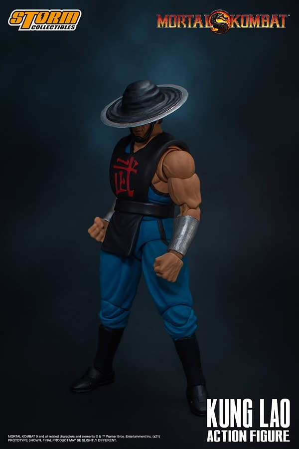 Mortal Kombat Kung Lao Enters the Arena With Storm Collectibles