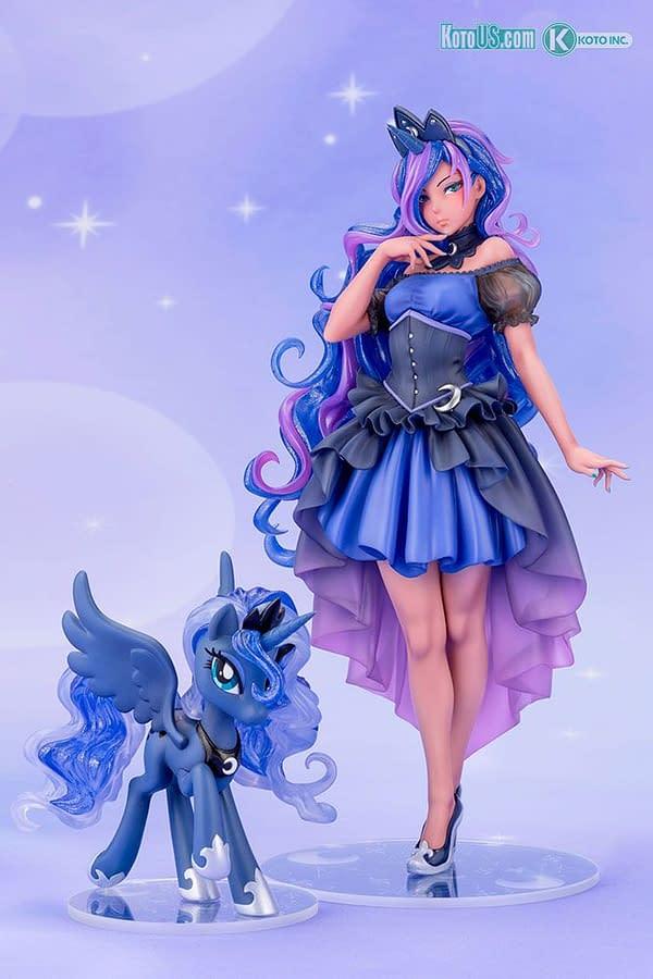 My Little Pony Princess Luna Turns Human With Kotobukiya