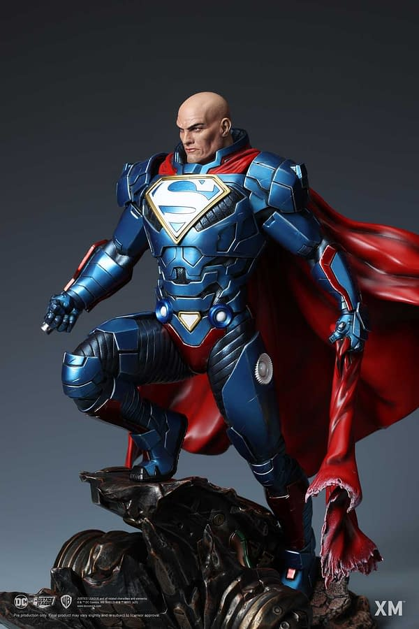 Lex Luthor Is Here to Save the Day With New XM Studios Rebirth Statue