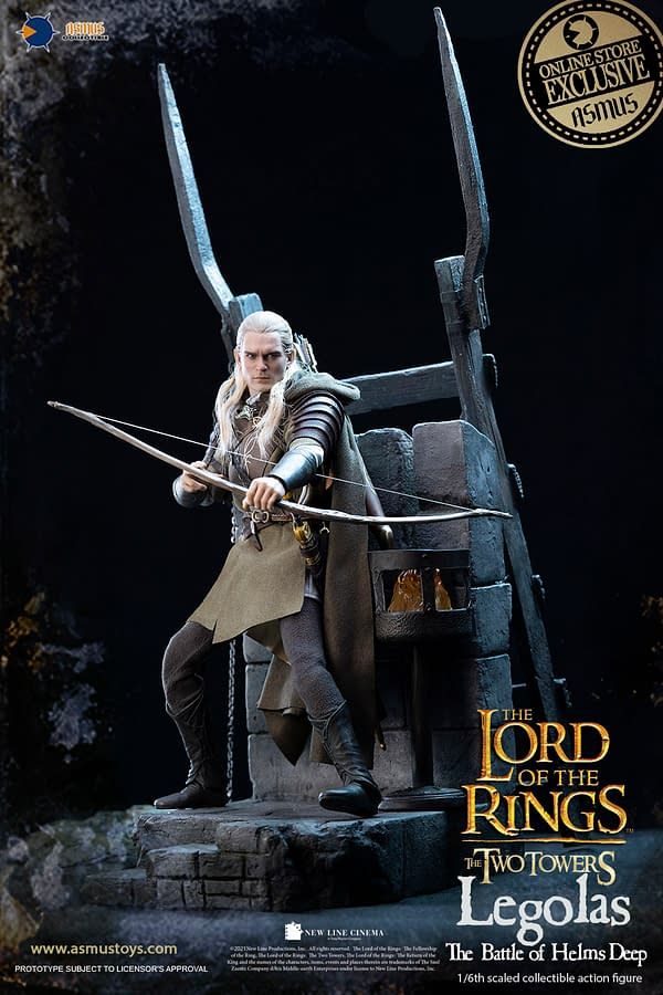 Lord of the RingsLegolas Shoots His Shot With Asmus Toys