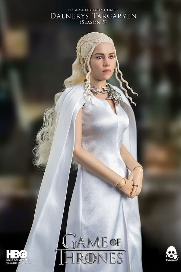 Threezero Debuts Season 5 Game of Thrones Daenerys Targaryen Figure