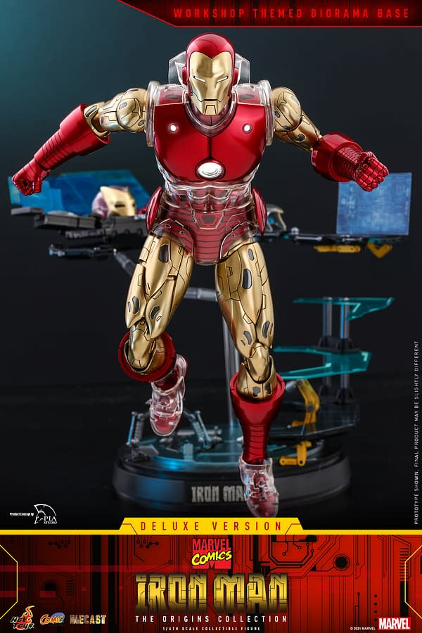 Hot Toys Debuts The Origins Collection With Invincible Iron Man