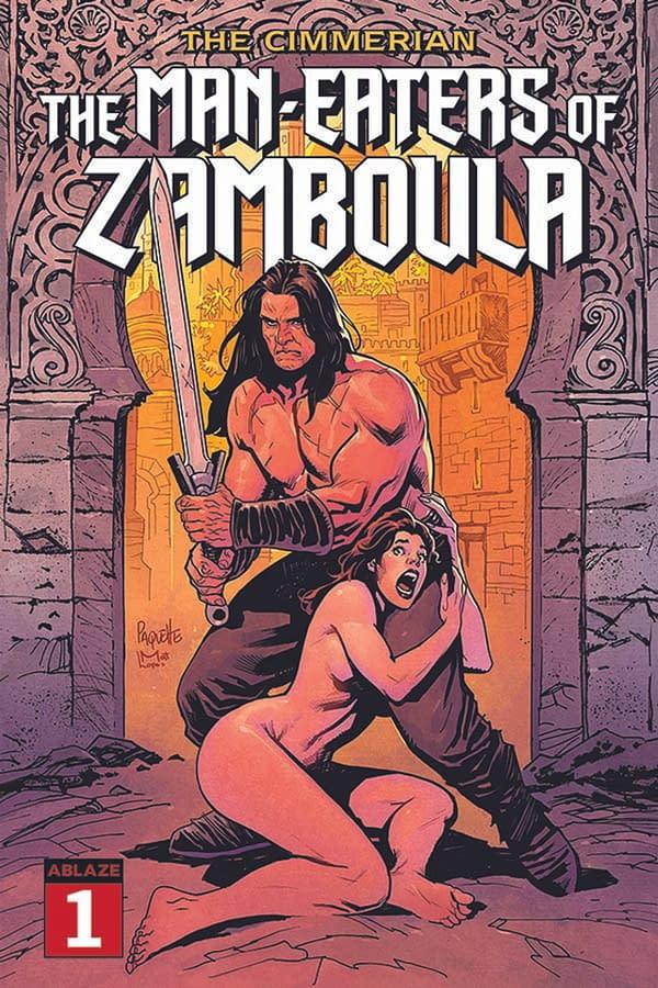 The Cimmerian: ABLAZE Announces New Uncensored Conan Series