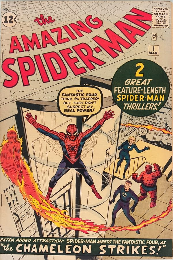 Cornering The Market On Sales Of Amazing Spider-Man #1 For $17