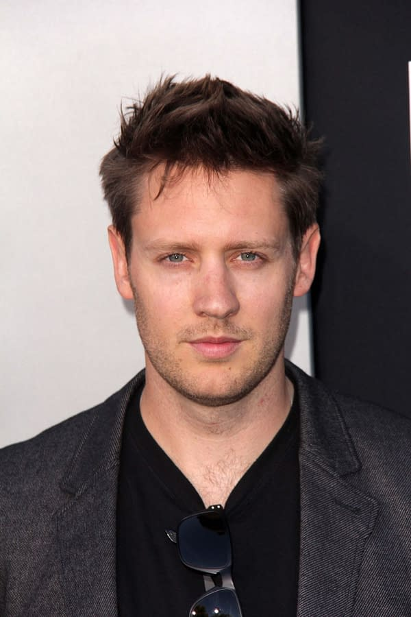 """Neill Blomkamp at the """"Elysium"""" Los Angeles Premiere, Village Theater, Westwood, CA 08-07-13. Editorial credit: s_bukley / Shutterstock.com"""
