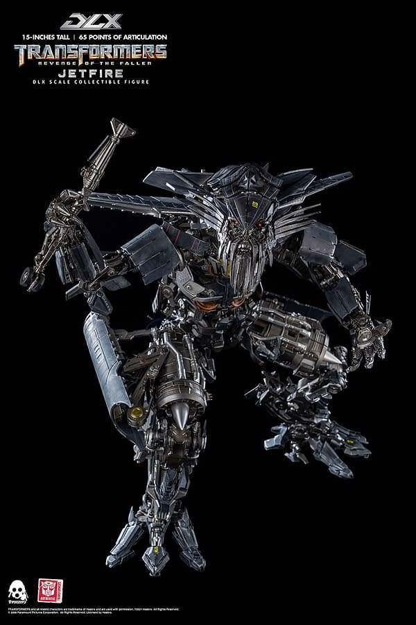 Transformers Decepticon Jetfire Receives Life-Action  threezero Figure