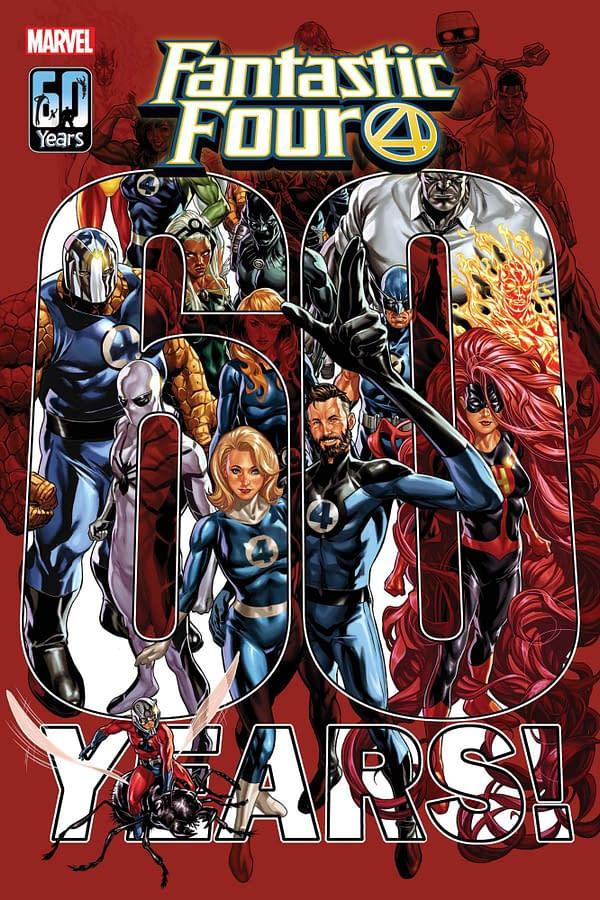 John Romita Jr. Leads Art Team for Fantastic Four 60th-Anniversary