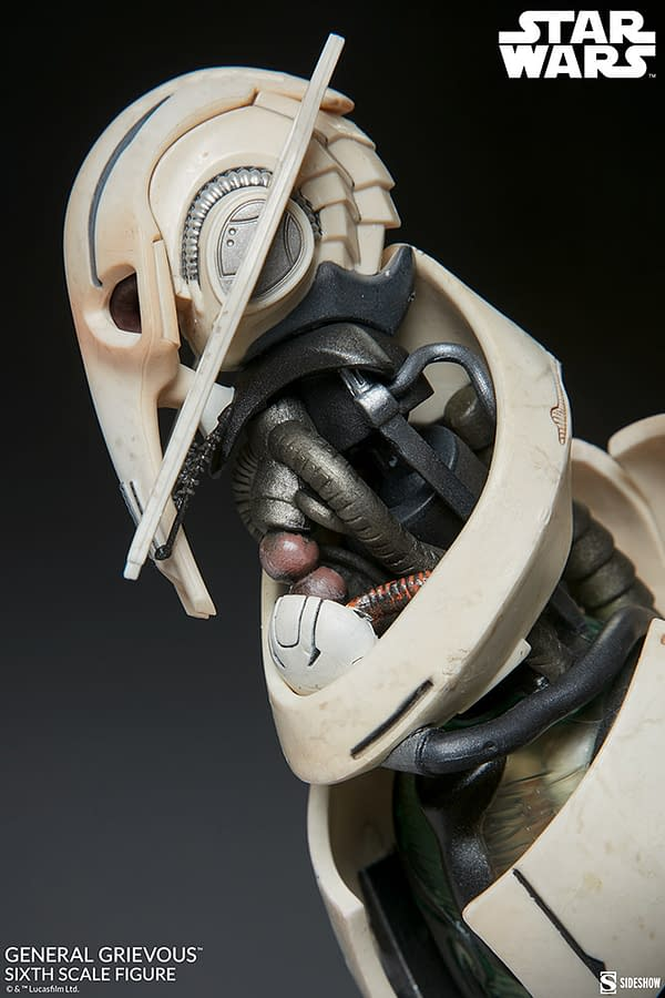 General Grevious Enters The War Thanks To Sideshow Collectibles