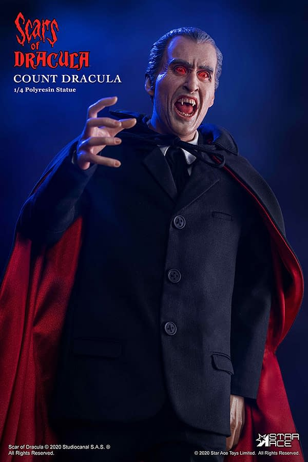 Dracula Is Back With Star Ace New Scars of Dracula 2.0 Statue