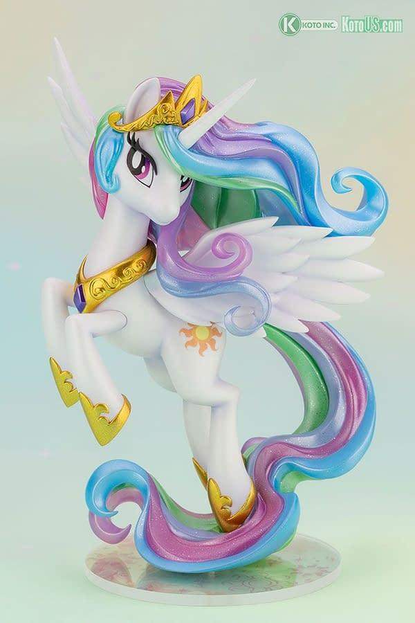 My Little Pony Princess Celestia Comes to Life With Kotobukiya