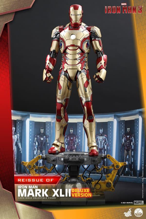Hot Toys Announces Iron Man 3 1/4th Scale Figure Reissue