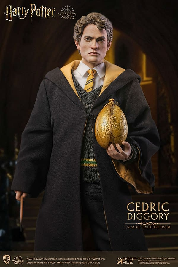 Harry Potter's Cedric Diggory Comes To Life With Star Ace Toys