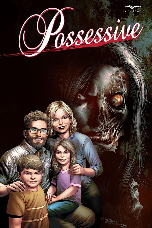 Possessive cover art. Credit: Zenescope Entertainment