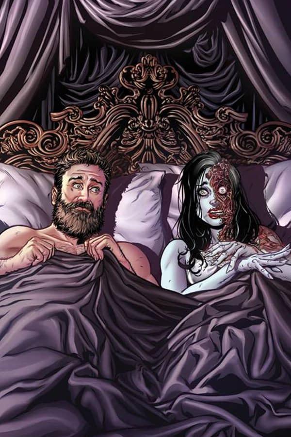 Possessive #1 cover art. Credit: Zenescope Entertainment