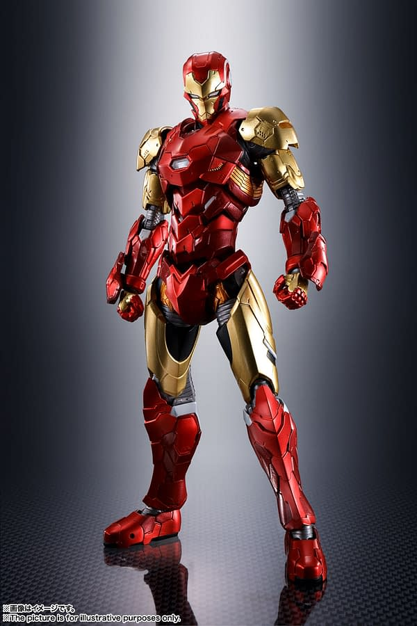 It's An Iron Man World With Tech On Avengers From S.H. Figuarts