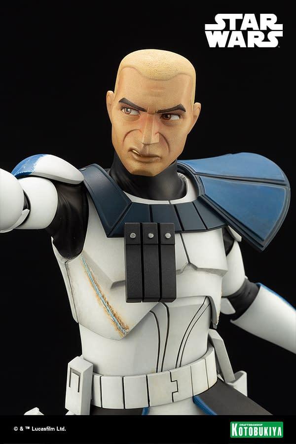 Star Wars Captain Rex Joins Kotobukiya With New The Clone Wars Statue