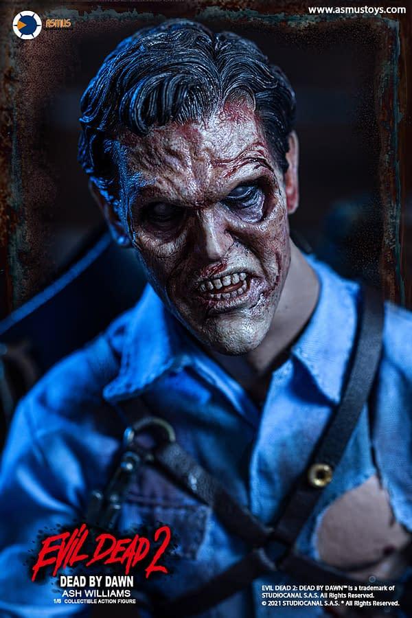 Asmus Toys Reveals Evil Dead 2: Dead by Dawn Ash Williams Figure