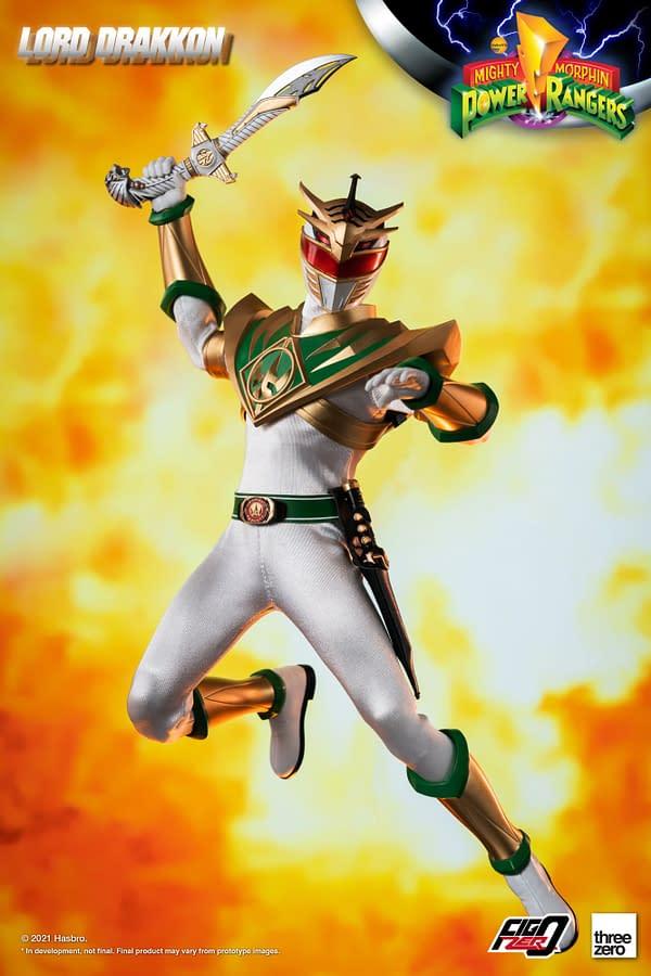 Fear The Might of Power Rangers Lord Drakkon with threezero