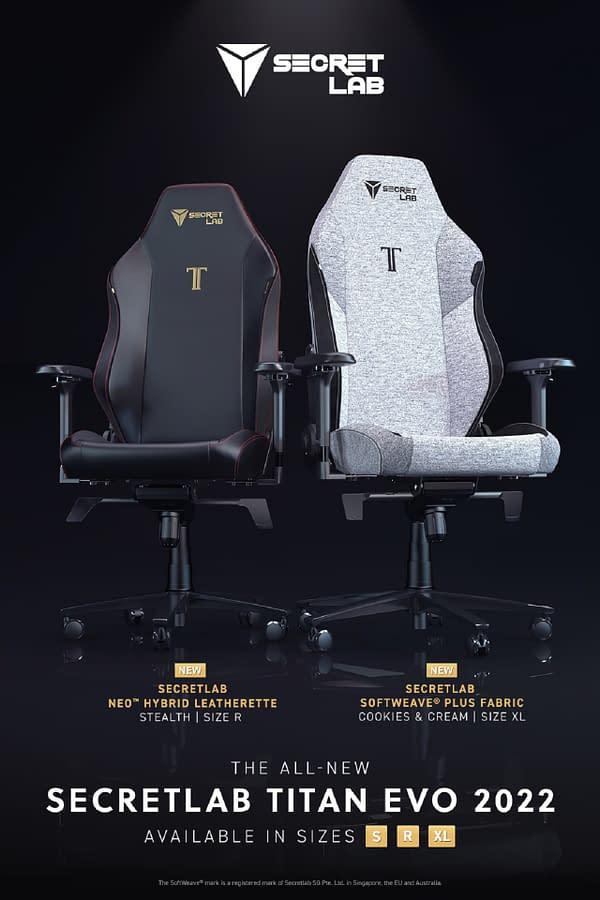 Secretlab Reveals Their 2022 Series Of Gaming Chairs