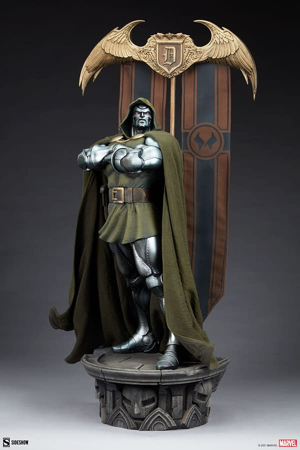 Doctor Doom Shows His Power With Sideshow's Newest Statue