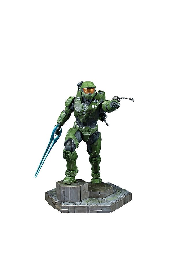 Master Chief Receives New Halo Infinite Statue from Dark Horse