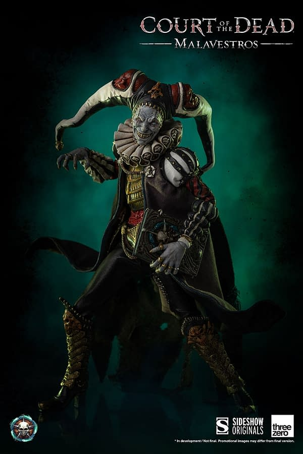 Sideshow's Court of the Dead Arrives with Terrifying Demithyle Figure