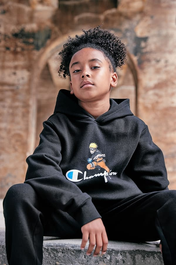 Naruto Forms Champion's First Anime-Based Apparel Collection