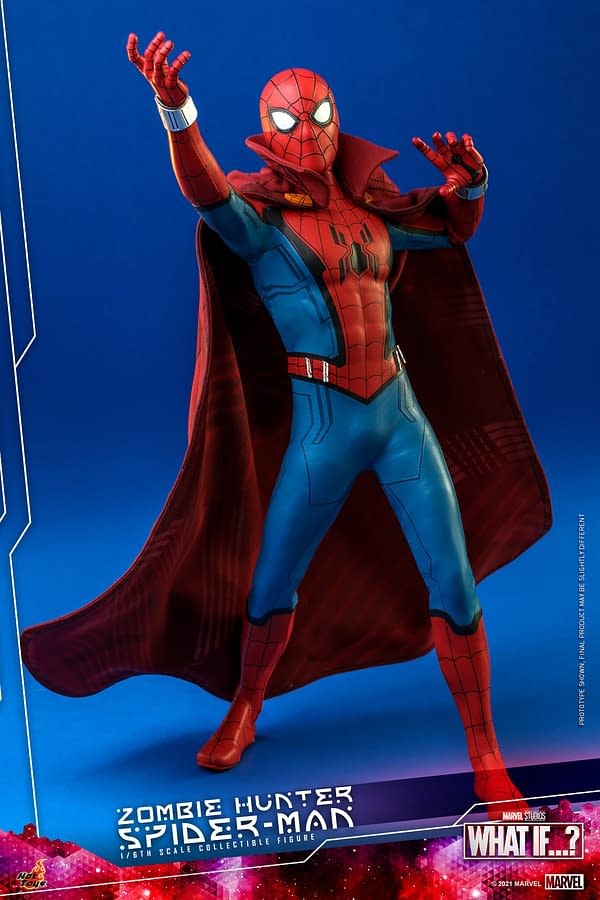 Hot Toys Reveals What If…? Spider-Man Zombie Hunter Figure