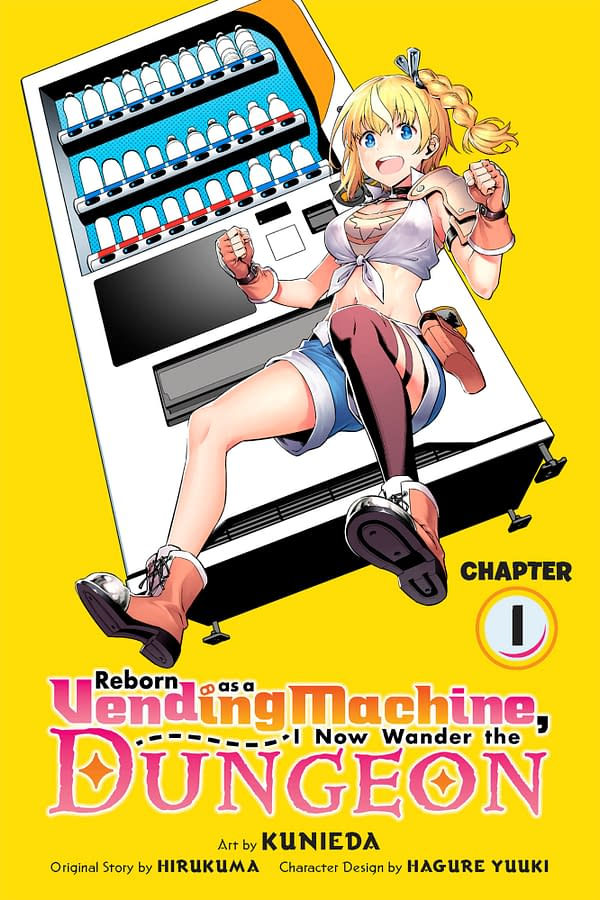 Reborn as a Vending Machine Manga: Yen Press to Publish E-Chapters