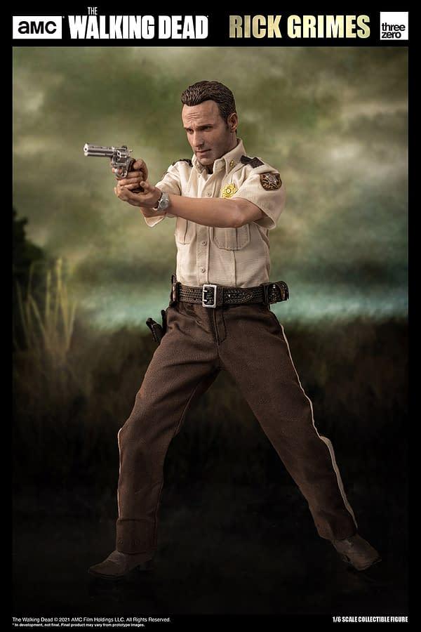 The Walking Dead Rick Grimes Returns with threezero