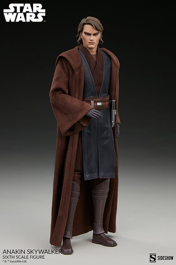 Anakin Skywalker Returns to The Clone Wars With New Sideshow Figure