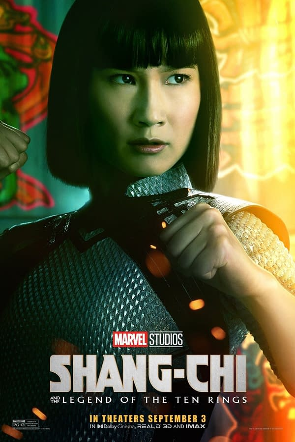 6 Posters & a Featurette for Shang-Chi and The Legend of The Ten Rings