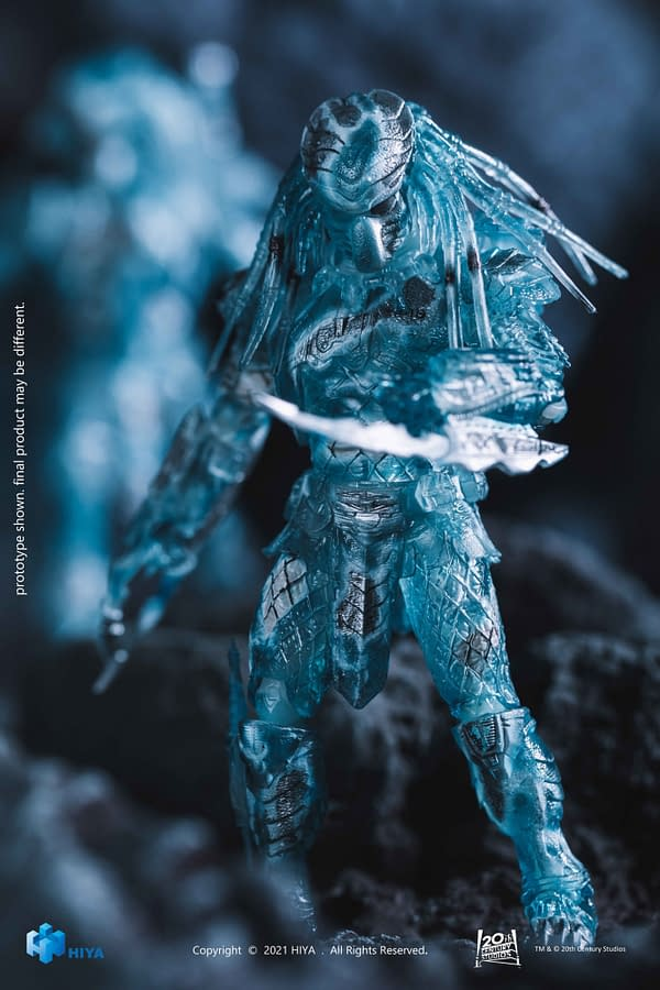 Camouflage Activated with Two New Hiya Toys Alien Vs. Predator Figures