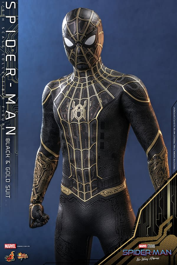 Hot Toys Give A Closer Look At New Spider-Man: No Way Home Costume