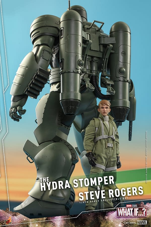 What If…? Hydra Stomper and Steve Rogers Arrive at Hot Toys