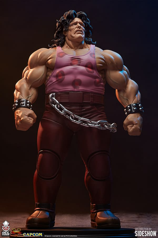 Street Fighter Hugo and Poison Statue Arrive from PCS Collectibles