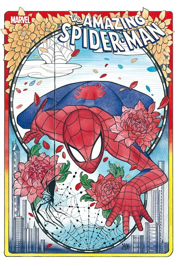 Cover image for AMAZING SPIDER-MAN #74 MOMOKO VAR