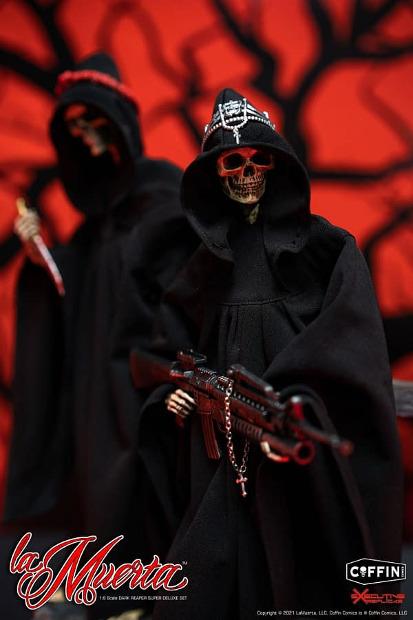 La Muerta Comes To Life With Executive Replicas Deluxe Figure Set