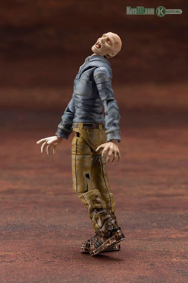 Kotobukiya Reveals End of Heroes 1/24th Scale Zombie Figures